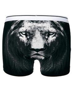 ASOS – Unterhose mit Löwenmotiv