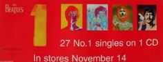 The Beatles 27 No. 1 Banner Style Poster (71,12 x 27,94 cm)