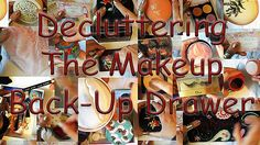 The Makeup Backup Drawer DECLUTTER: Powders, Treasures & Souvenirs