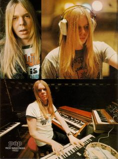 Rick Wakeman [i met Rick last year on my birthday, he was an absolute gent and couldn't stop talking to us. By far one of the most wonderful musicians and people you will ever hear]