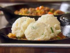 """Pepper Jack Mashed Potatoes (Newlyweds Under the Mistletoe) - Damaris Phillips, """"Southern at Heart"""" on the Food Network."""
