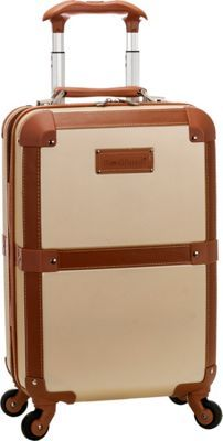 Buy the Rockland Luggage Stage Coach Rolling Trunk at eBags - With a vintage-inspired look and modern design details, this rolling trunk is perfect for all types Rockland Luggage, Spinner Suitcase, Stage Coach, Pink Zebra, Travel Luggage, Champagne, Trunks, Fun, Ebay