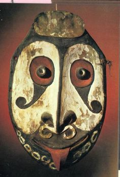 from the sepik river district, Papua New Guinea