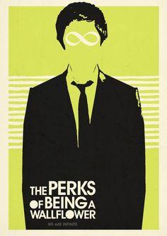 Poster Ilustrado de The Perks of Being a Wallflower *Las Ventajas de ser Invisible* (movie 2013) libro de chobosky