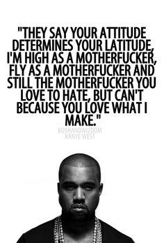 Kanye - http://www.buzzfeed.com/hnigatu/in-defense-of-kanyes-vanity-the-politics-of-black-self-love