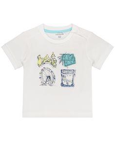 Pr/énatal Baby-Jungen T-Shirt Hellgrau
