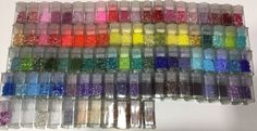HUGE Lot Of Delicas!!! There are 92 different colors!!!