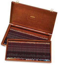 Derwent Coloursoft Pencils Wood Box Set of 72...love these...