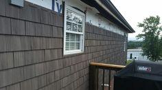 Vinyl Siding With Brown Roof Monogram Sable Brown Vinyl