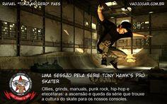Uma Sessão Pela Série Tony Hawk'S Pro Skater - Ollies, grinds, manuals, punk rock, hip-hop e etecétaras: a ascensão e queda da série que trouxe a cultura do skate para os nossos consoles. #TonyHawksProSkater #THPS #Skate