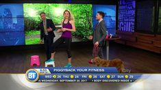 Learn how to piggyback exercise onto your daily habits! For example....turn your dog walk into a workout! Find out details in this BT Segment