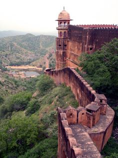 Amer Fort (Amber Fort) in Amer, India