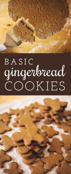 Classic holiday gingerbread cookie recipe so deliciously easy to follow with step by step pictures. Holiday baking season is here!