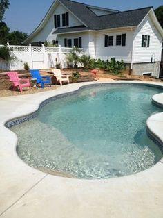Jimmy Buffet Fiberglass Pool Paradise