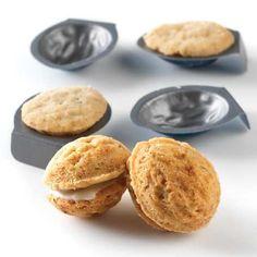 Walnut-Shaped Cookie Molds @ King Arthur Flour