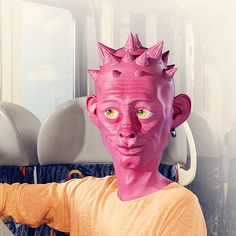 Czech Railways – Advertising Campaign by Tomas Muller