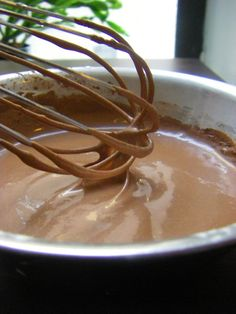 Coconut Chocolate Pudding