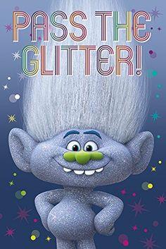 Trolls Guy Diamond Glitter Poster