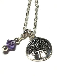 House of Awesome Tree Charm Necklace by MidnightHouseElves on Etsy, $17.00