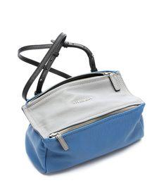 bluette leather 'Pandora' mini shoulder bag