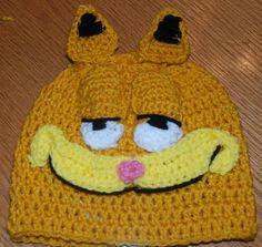 Garfield hat pattern by Amy Lehman