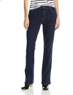 Lee Women's Relaxed Fit Bootcut Jean, Donte, 10/Medium  Go to the website to read more description.