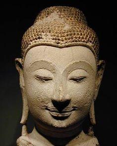 buddha head piece