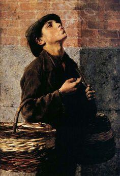 Tableaux sur toile, reproduction de Iakovidis, The Smoker, 91x64cm