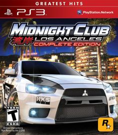 Amazon.com: Midnight Club: Los Angeles - Greatest Hits - Complete Edition - Playstation 3: Video Games