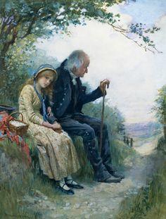 Grandpa's Favorite (Harold Copping)