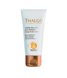 THALGO Sonne: Anti-Aging Sonnencreme  Sonnencreme mit hohem Schutz für Gesicht und Dekolleté
