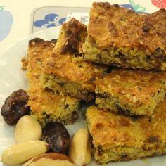 Healthy pregnancy snack oat bars