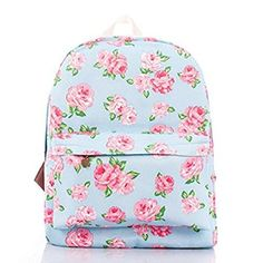 Cheap bag buckle, Buy Quality bag duffle directly from China bag leash Suppliers: 2017 New Printing backpacks Rose floral Cute school bags for women/ teenage girls rucksack laptop Canvas backpack female Cute Backpacks, Girl Backpacks, School Backpacks, Leather Backpacks, Canvas Backpack, Backpack Bags, Floral Backpack, Messenger Bags, Fashion Bags