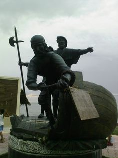 The disputed site of the Magellan's landing in Masao, Butuan City. Theory has it that Catholicism started here before it wen't mainstream to the rest of the country.