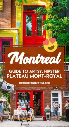18 places you can't miss in Montreal's most artsy, quaint district #travelblogger #MontrealTravel #CanadaTravel Voyage Montreal, Mont Royal Montreal, Quebec Montreal, Montreal Travel, Old Montreal, Montreal Ville, Quebec City, Montreal Vacation, Montreal Food