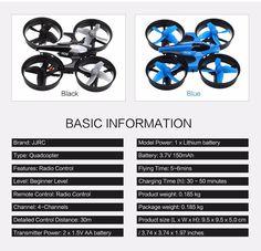 JJRC H36 Super Mini Size Drone Specification by podoqo