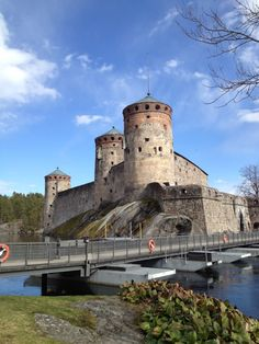 Savonlinna is a hearth of Lake Saimaa.