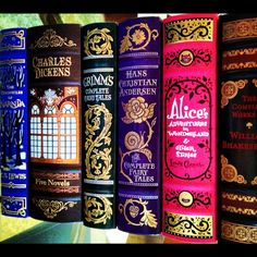 Barnes and Noble Leatherbound Classics-Beautiful! - I want the Grimms, Hans Christian Anderson, and Alice in wonderland!/// jesus tag your porn will you