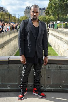 """Kanye West—who avows, """"I understand culture. I am the nucleus""""—set up shop in Paris because there """"you can just trip on inspiration..."""" But now he has written a rap tune that may or may not have offended his French hosts: """"In a French-ass restaurant / Hurry up with my damn croissants!"""" (No one seems to know the source...)"""