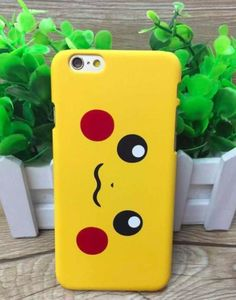 "Slim Cartoon Pikachu Pokemon Design Hard Back Case Cover iPhone 6 6s Plus 5.5"" in Mobile Phones & Communication, Mobile Phone & PDA Accessories, Cases & Covers 