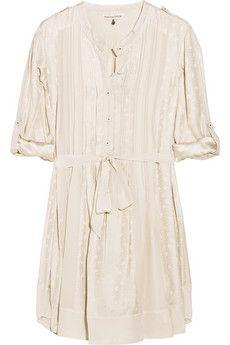 Rebecca Taylor Printed silk shirt dress | NET-A-PORTER