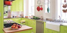 13 Ideas from Anything-But-Subtle Kitchens http://www.elledecor.com/design-decorate/room-ideas/g2492/bold-kitchens/?src=TrueAnth_ELLEDECOR_TW&utm_campaign=trueanthem&utm_content=558db0c204d30122c2000002&utm_medium=trueanthem&utm_source=twitter…