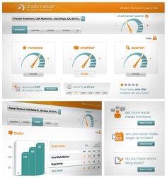 Chatmeter Dashboard UI Design, Web Design
