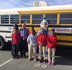 "Nearly 200 students from Knox Middle School boarded the ""Choice Bus"" on Friday thanks to a partnership between Communities In Schools (CIS) of North Carolina, State Farm and the Mattie C. Stewart Foundation."