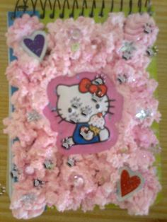 Block de notas Hello Kitty (para ver más acude al blog) #deco #hellokitty
