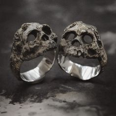 61 Amazing Zales Skull Ring - The Jewelry Skull Jewelry, Gothic Jewelry, Jewelry Rings, Jewelry Accessories, Jewelry Design, Skull Rings, Silver Skull Ring, Steampunk Accessories, Punk Jewelry