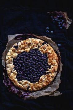 blueberry galette by Agnieszka Krach