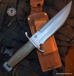Relentless Knives Custom Military Survival knife Built to Customers specs //