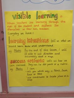 What is Visible Learning? Assessment For Learning, Learning Targets, Learning Goals, Learning Objectives, Visible Thinking Routines, Visible Learning, Deep Learning, Instructional Strategies, Teaching Strategies