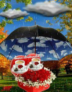 Good Morning, Christmas Ornaments, Holiday Decor, Floral, Roses, Coffee, Figurative, Bom Dia, Buen Dia